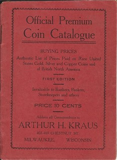 Kraus, 1905 Premium Coin Catalogue