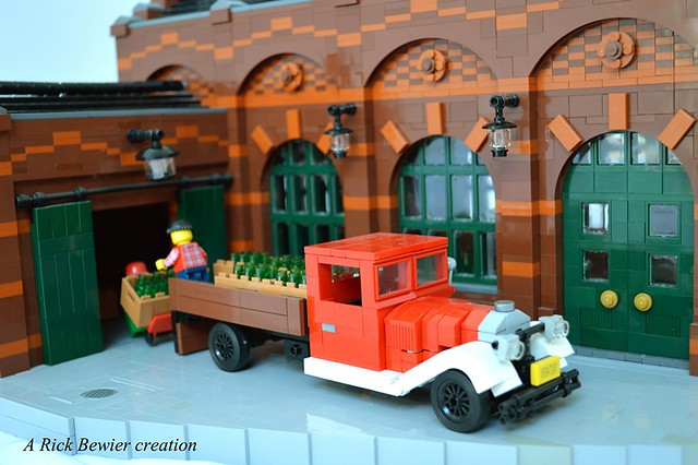 Raise A Glass To This Lego Brewery The Brothers Brick