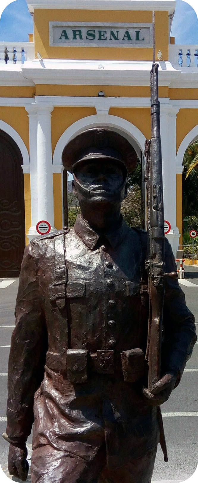 Mañana inauguran el monumento al Infante de Marina