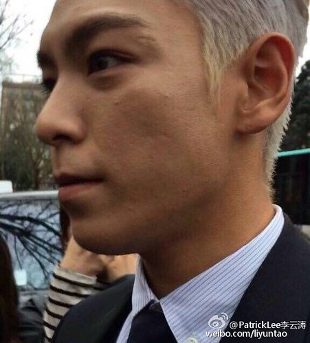 TOP - Dior Homme Fashion Show - 23jan2016 - liyuntao - 02