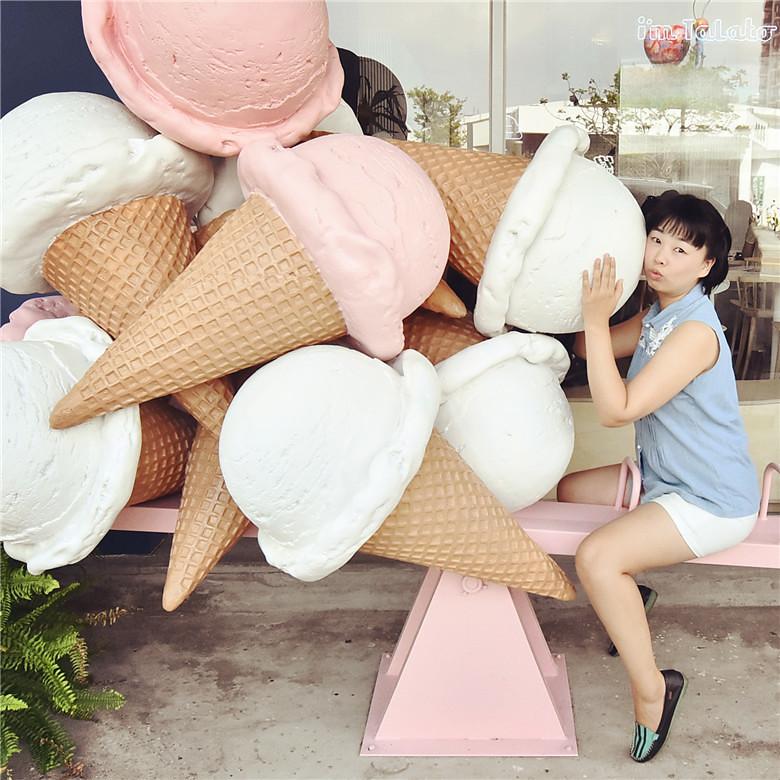 台中冰淇淋塔拉朵i'm talato草悟勤美17