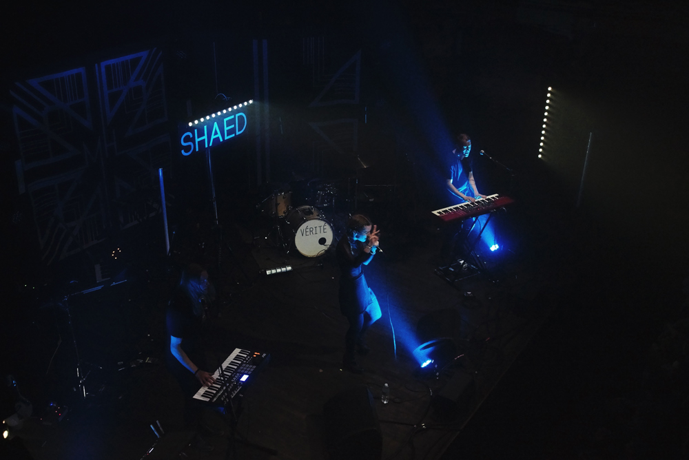 SHAED @ Webster Hall, NYC (10/12/16)