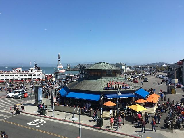 Fisherman's Wharf view