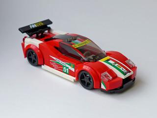 Ferrari 458 Italia GT2 (Speed Champions City Scale)