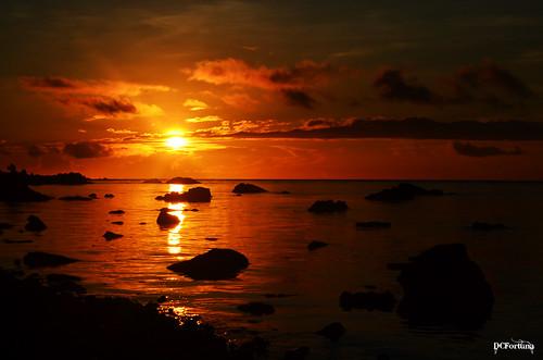 Laiya Sunrise
