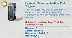 Hygienic Decontamination Pod