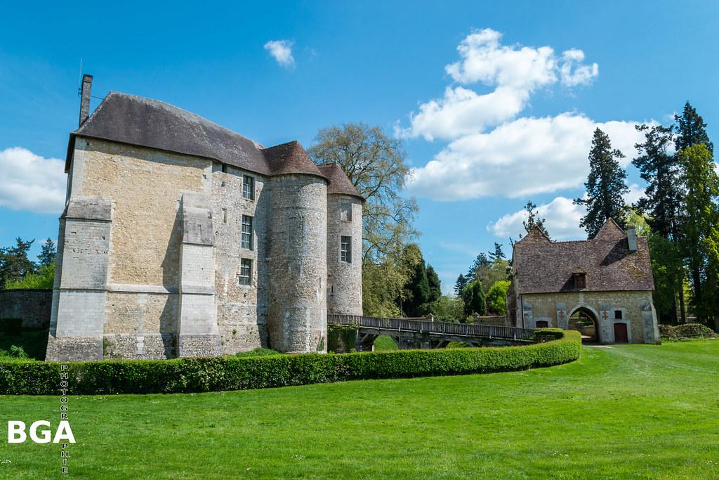 Jardín castillo Harcourt
