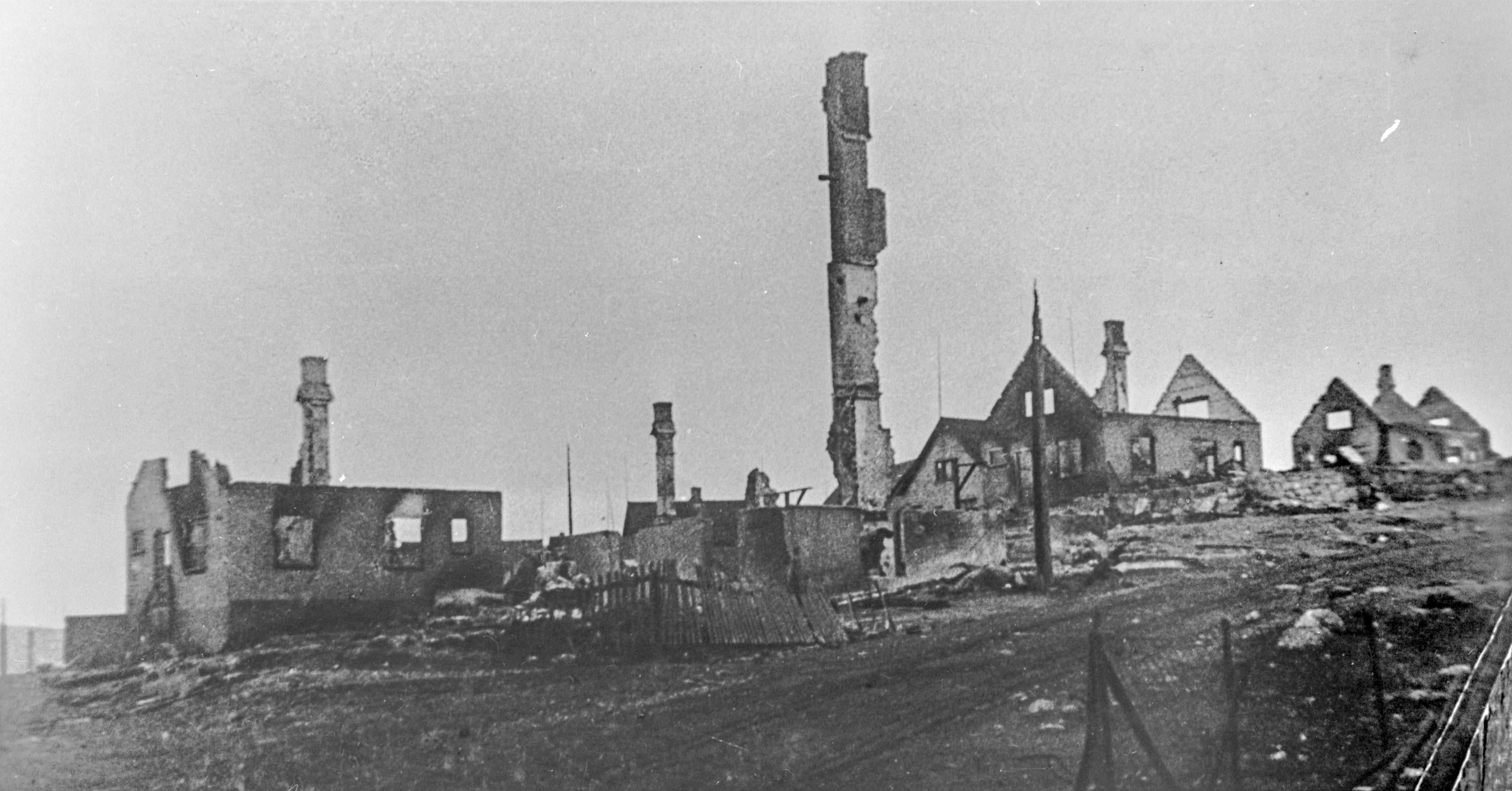 Ruiner i Kirkenes