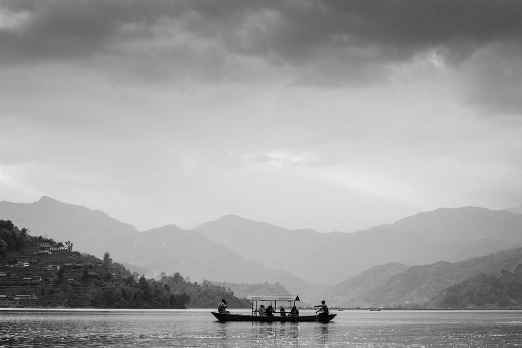 Boat ride, Pokhara.