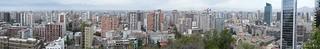 Santiago de Chile - Cerro de Santa Lucia Super Wide