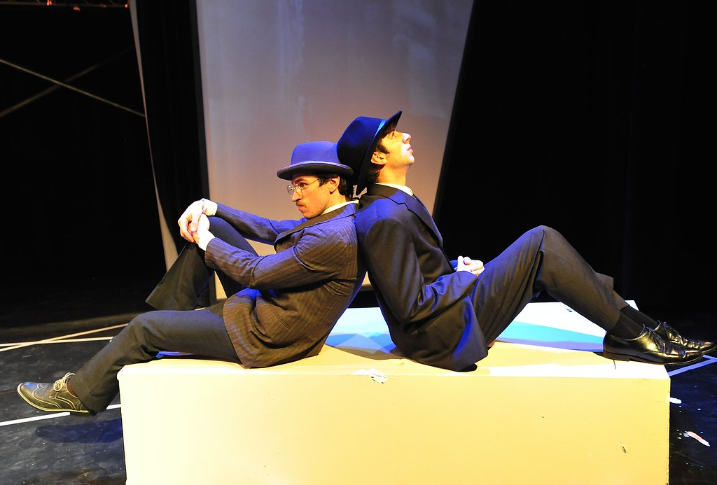 <p>Benjamin Koontz as Max and Matthew Payne as Franz<br /> <br /> Photo by Valentine Radev</p>