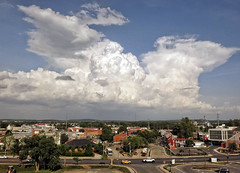Storm clouds over Frederick, MD