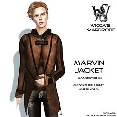 Wicca\'s Wardrobe - Marvin Jacket (Menstuff Hunt 6-2015) Vendor