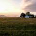 Lummi Island Sunset and Chuckanut Mountains | Edison, WA by justin.t.brown