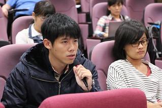 台灣農村陣線研究員陳平軒。攝影:黃小玲