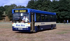 Blue Bus Horwich