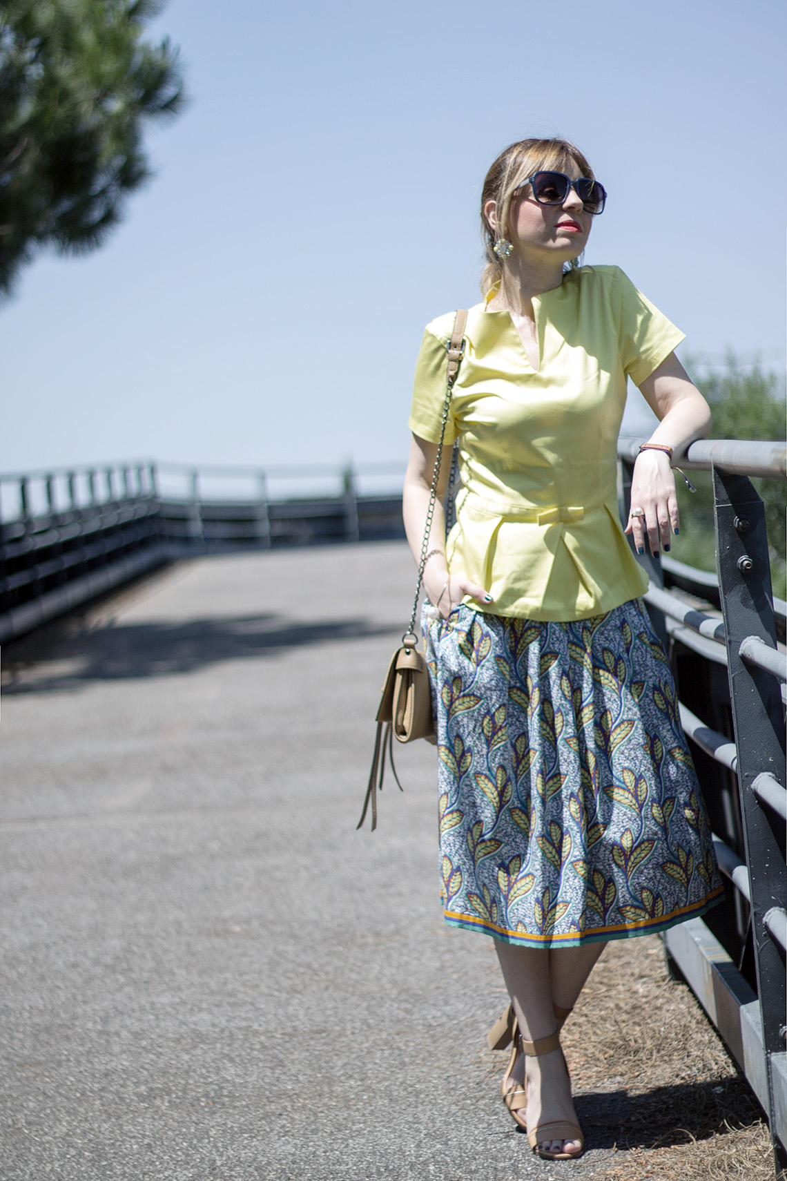 outfit con il giallo dressing&toppings