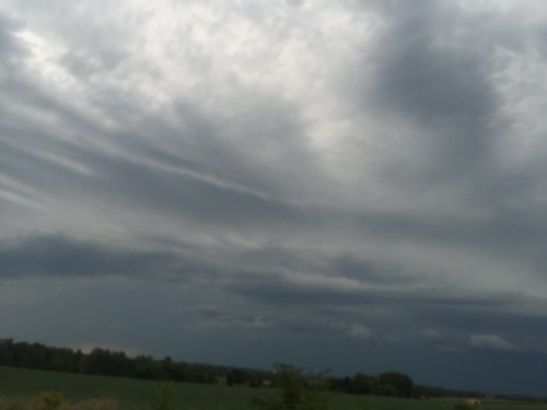 20150814 Interesting Clouds and Sky; Fond du Lac County, Wisconsin - 12