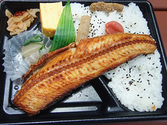 #8483 lunch: Atka mackerel box lunch (縞ホッケ…