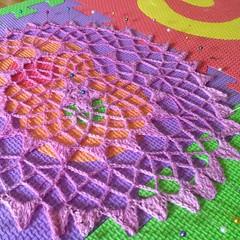 Big #doily. #crochet #instacrochet #iloveyarn #lace