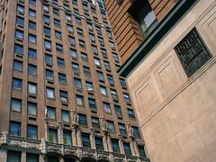 Skyscraper facades, Detroit