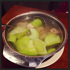Bitter Gourd Pork Ribs Soup