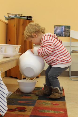 Toddler - Washing Dishes