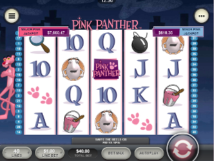 Pink Panther Mobile slot game online review