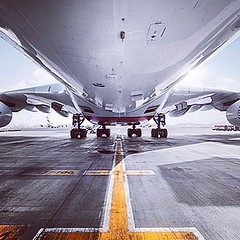 Airbus A380 #Aviation #Aircraft #Airbus #a380 #Runway