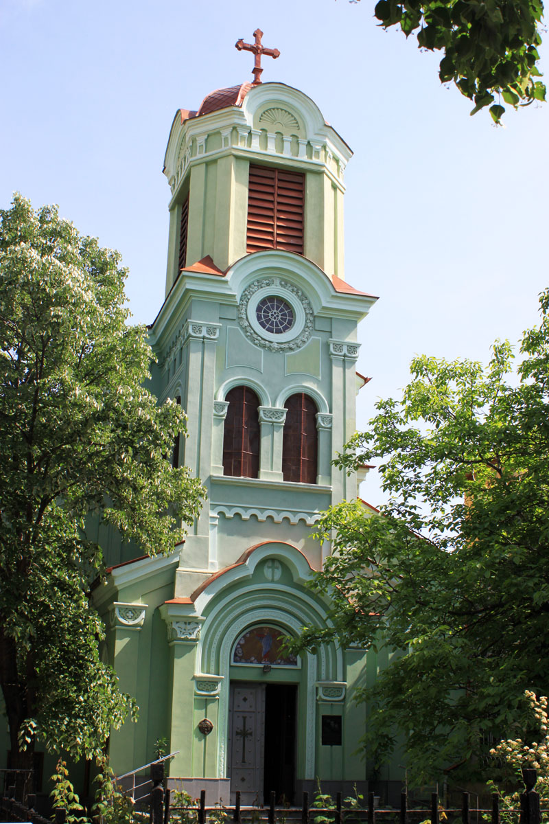 Bell tower of the orthodox-catholic church, Plovdiv