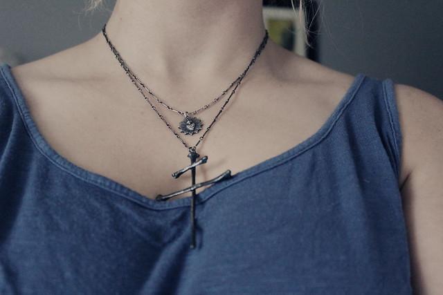 Blood Milk Necklaces