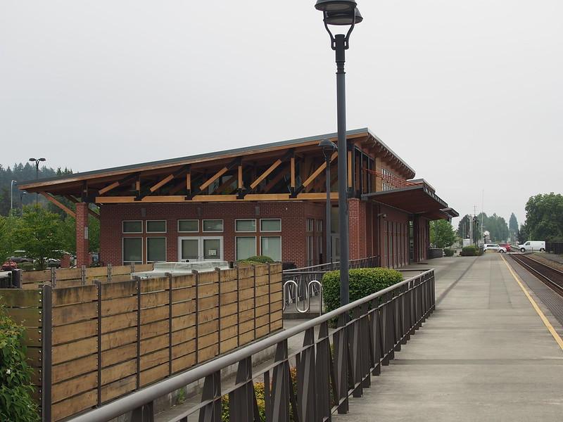 Mount Vernon Station: Where I left the train