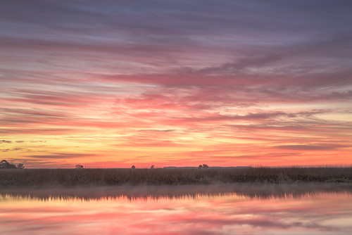 morning winter light sky color reflection nature water clouds sunrise canon watercolor georgia landscape dawn cool warm passion marsh canon2470mm canon7d barbourriverlanding