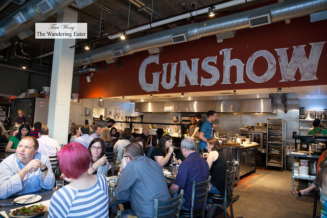 Partial interior of Gunshow