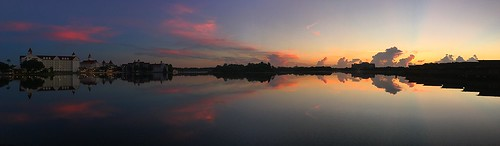 sky sunlight lake water clouds sunrise wow reflections florida pano scenic silhouettes panoramic wdw waltdisneyworld panaramic panaroma centralflorida polynesianresort disneyspolynesianresort sevenseaslagoon grandfloridianresortandspa baylakeflorida disneyspolynesianvillageresort chadsparkesphotography