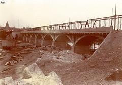 Congress Ave Bridge #1910 #austin #texas #trueaustin #tbt #bridge #construction #engineering by RG