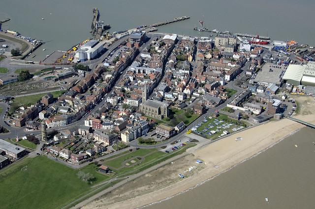 Harwich aerial