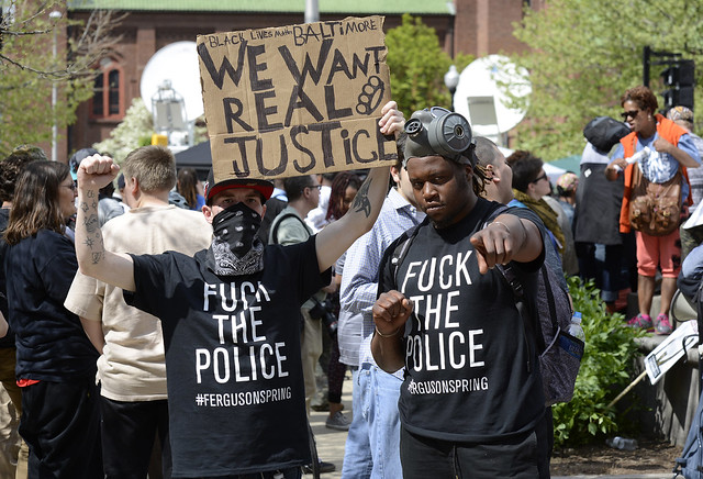 May 2, 2015 Justice For Freddie Gray Baltimore Victory Rally 4
