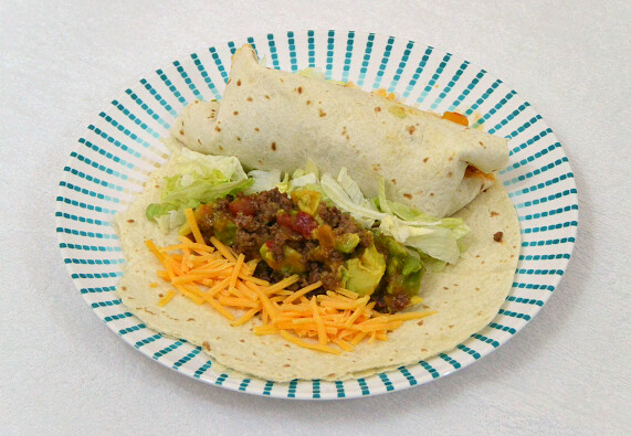 Sweet and Spicy Soft Tacos