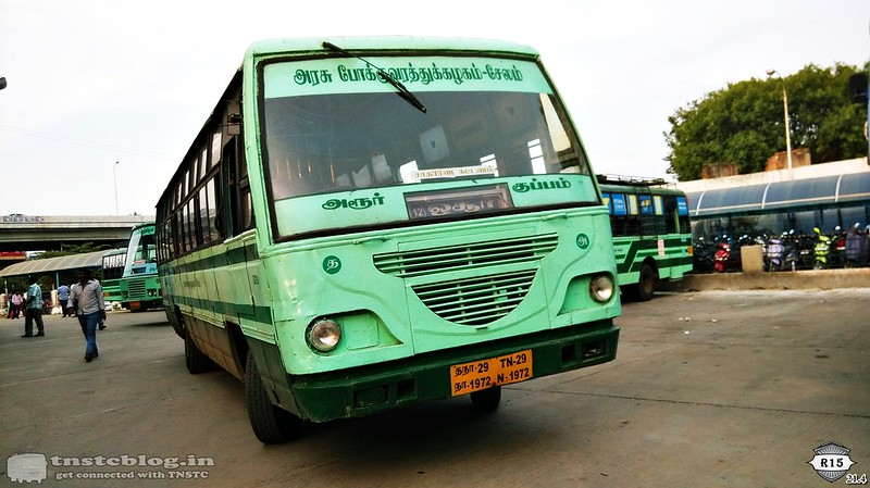 TN29 N 1972 DRP/Harur on Harur - Kuppam