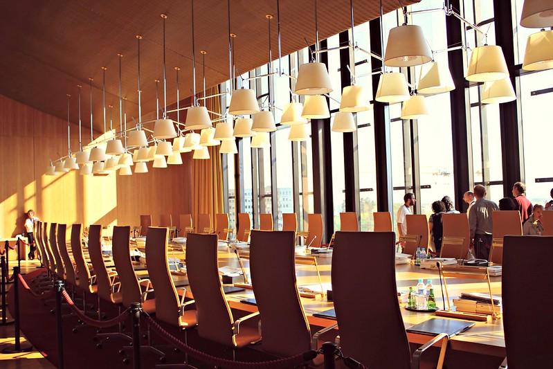 EU-tuomioistuin - tuomareiden kokoushuone