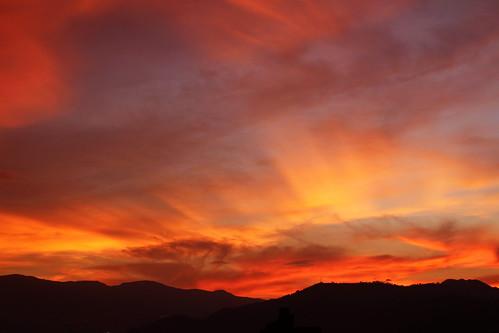 sunset clouds atardecer colombia nubes medellin antioquia arreboles