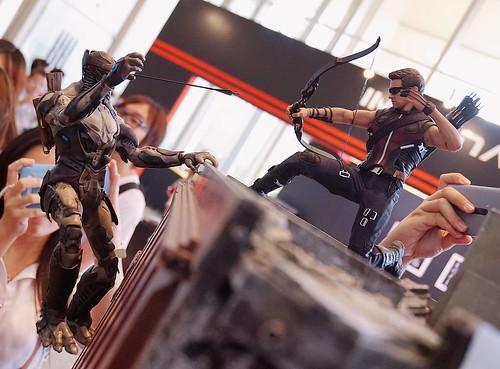 Comic Hawkeye.