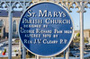 Dungarvan - St Mary's Parish Church Blue Plaque Emmet Street