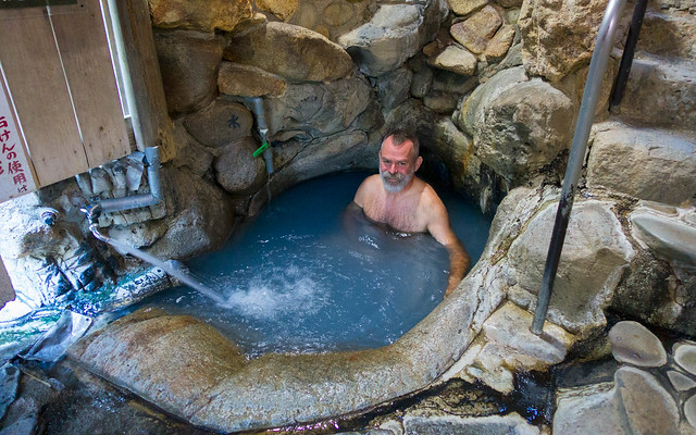 Yumomine hot spring (UNESCO WHS)