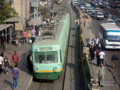 old Cairo tram