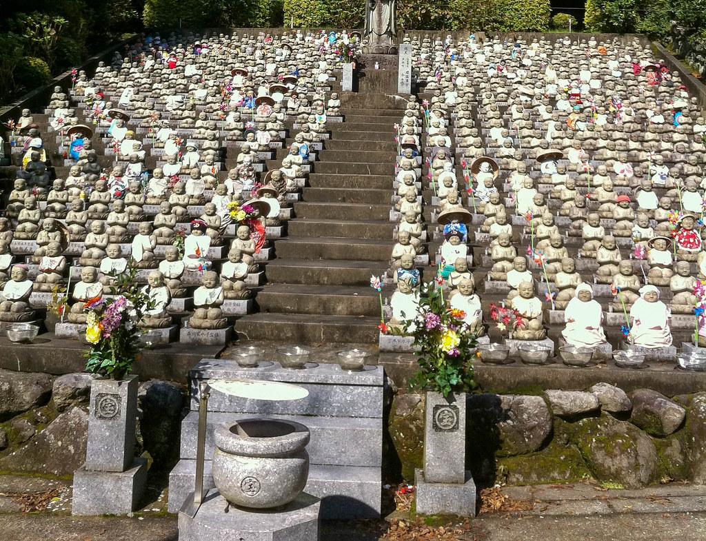 宝山寺の水子