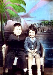 Julianna's dad & aunt, circa 1940.