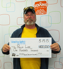 Phillip Lee - $100,000 $100K Bonus Bonanza Cashword