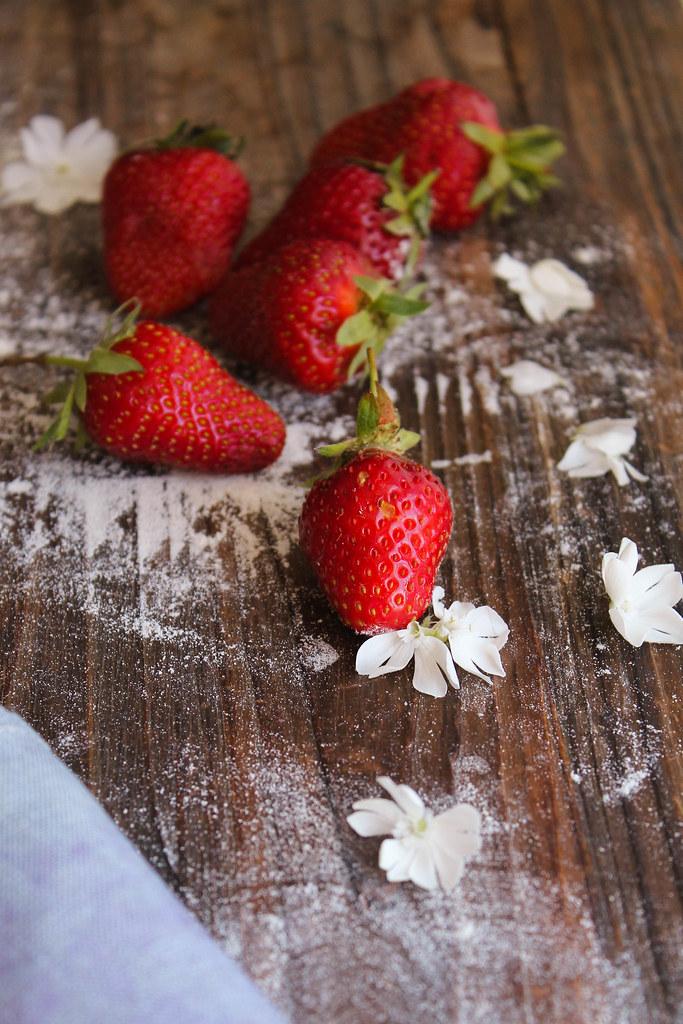 Pie aux fraises